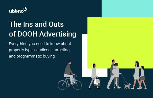 ubimo ins and outs of dooh report cover