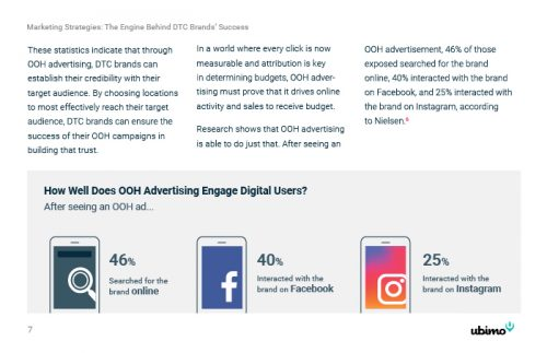 DTC and OOH report preview