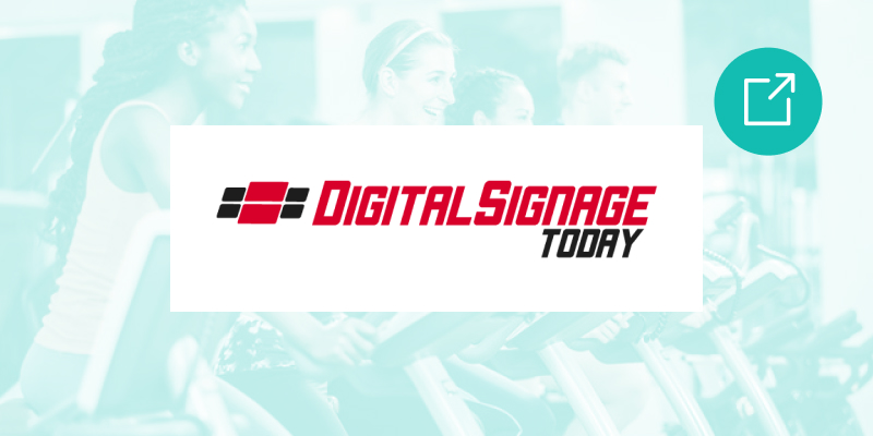 digital signage today Digital signage finds success in gyms