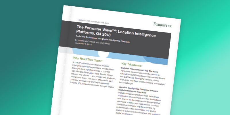 Forrester wave article