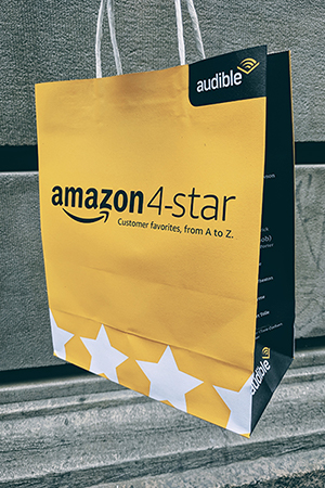 Gen Z Returning to Physical Stores amazon 4 star shopping bag